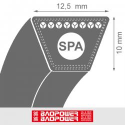 Curea de transmisie trapezoidala SPA 12.5x10x 2950 La / 2932 Lp - BP